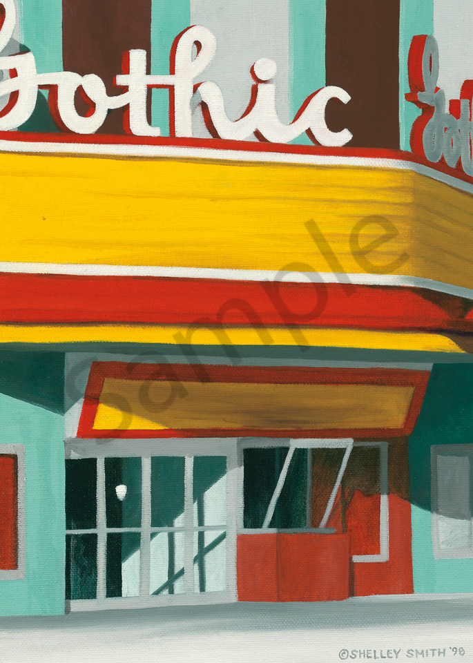 Gothic Theater | Denver, CO | Original Painting & Art Prints