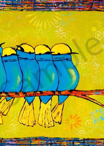 Seven Chubby Birds