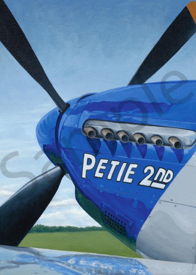 P-51 Mustang | Original Oil Painting | Fine Art Prints