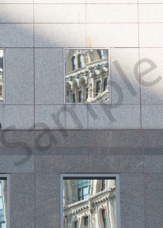 Manhattan Architecture Reflections Photo for sale: Barb Gonzalez Photography
