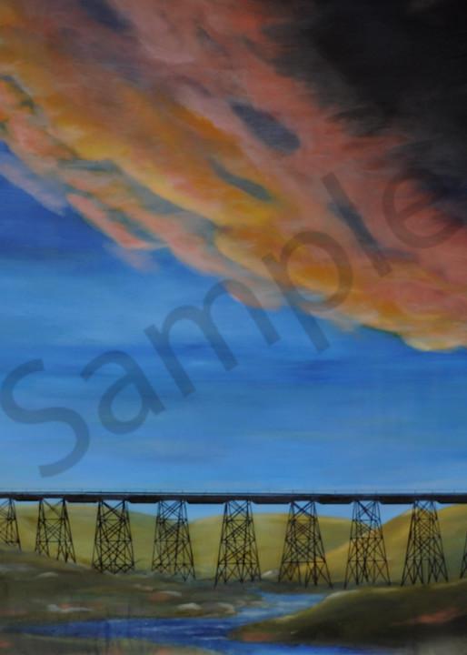 No Dak Skies   Minot Art | Art Relief