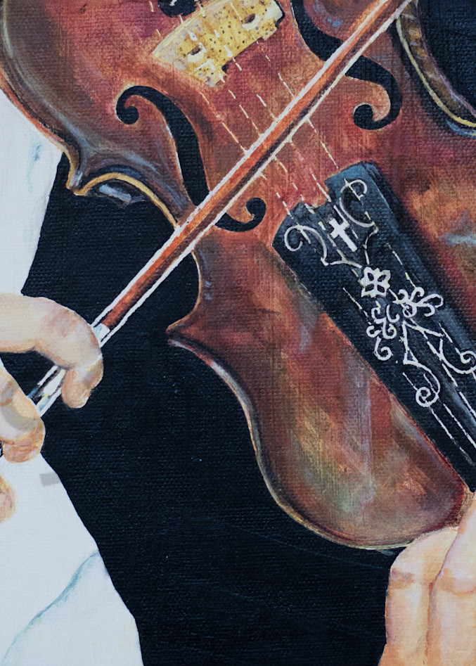"""""""Music to our Ears - Violin"""" by Sonia Farrell   Prophetics Gallery"""
