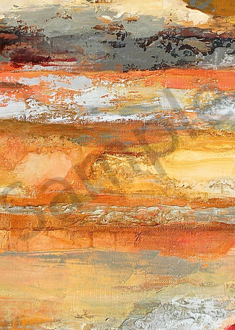 Changing Weather | Abstract Oil | Gordon Meggison