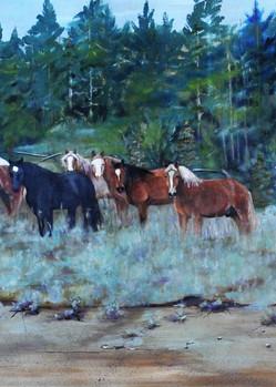 The Meadow Art | Art Relief
