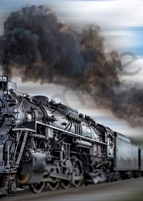 Rocket steam train - 1040 steam engine - fine art photography