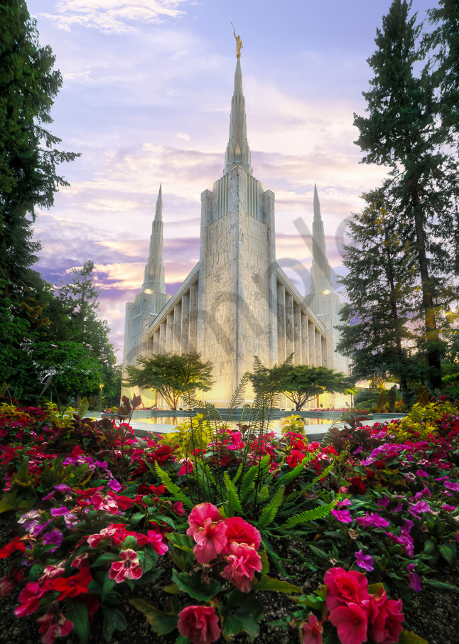 Portland, Oregon LDS Mormon Temple