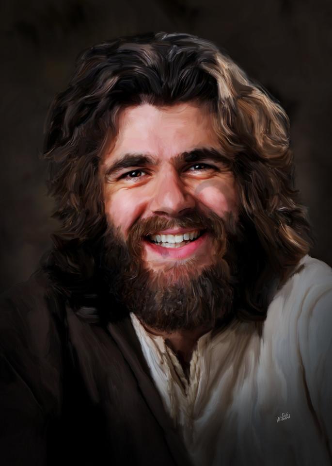 Jesus Happy To See You Art   MDM photo