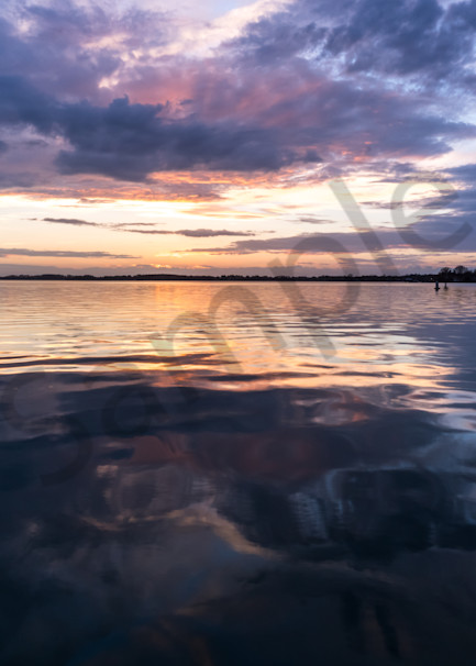 Reflections on Lake Norman Photograph for Sale as Fine Art