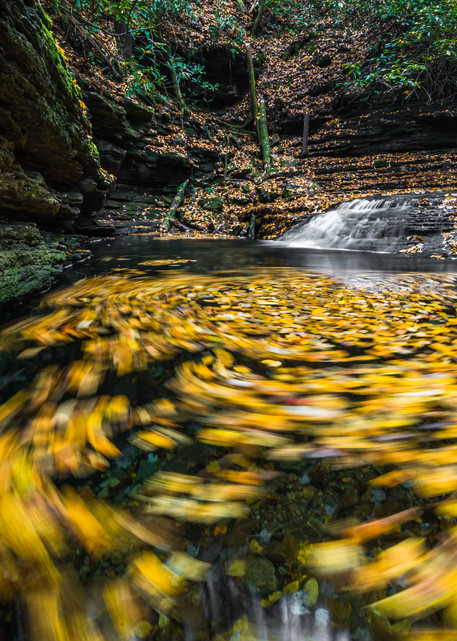 Devils Bathtub Falls Photograph for Sale as Fine Art