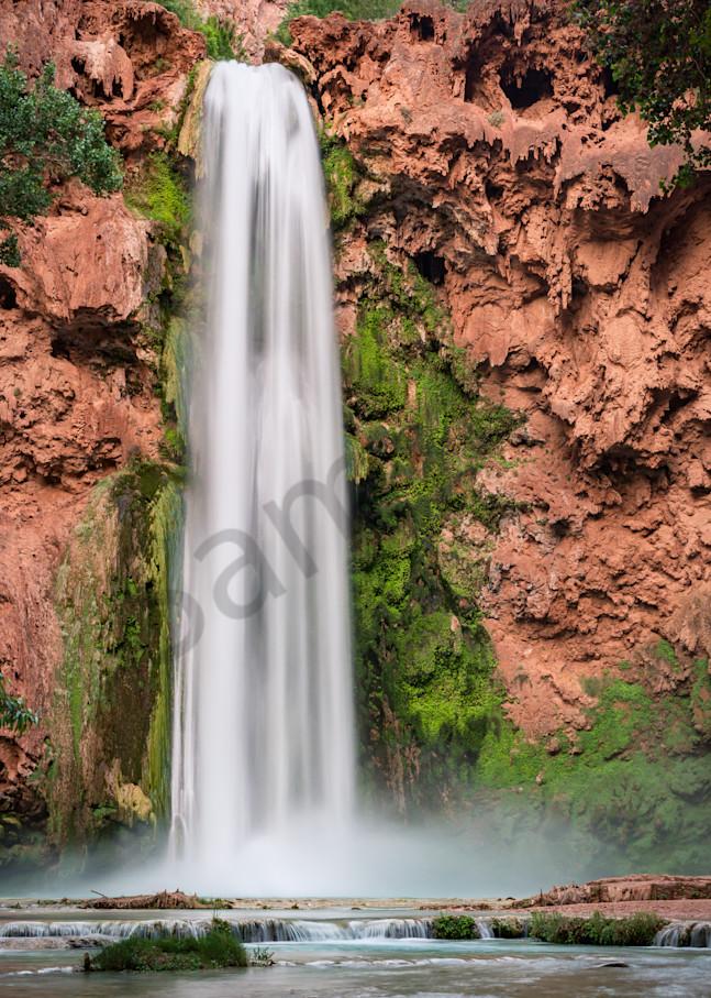 Mooney Falls Photograph for Sale as Fine Art