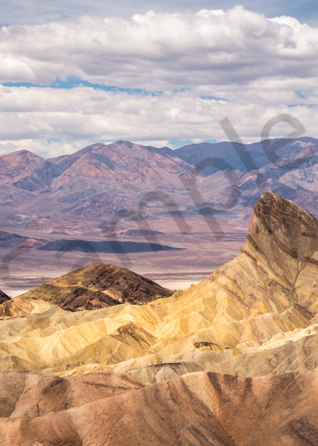 Death Valley Panoramic Photograph for Sale as Fine Art
