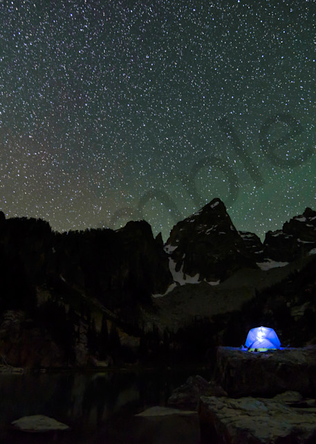 Grand Teton National Park Camping Photograph for Sale as Fine Art