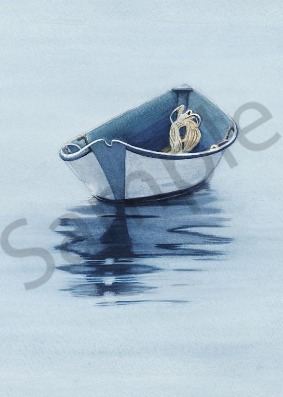 Coastal Reflection Ii Art | ColleenNashBecht