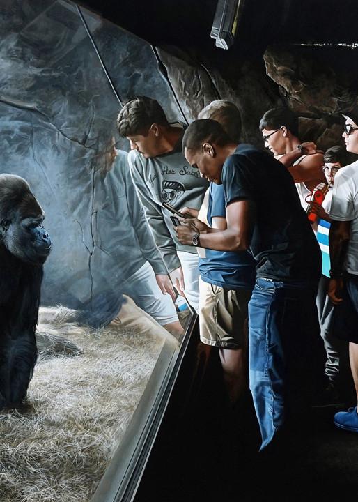 Primates art print   Kevin Grass Fine Art
