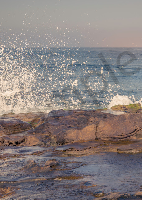 Playful waves at La Jolla Cove in San Diego | Susan J Photography