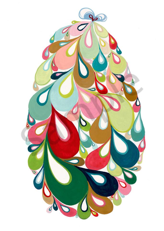 Swirl Egg (Bg/Pink) Art   Cynthia Mosser Fine Art
