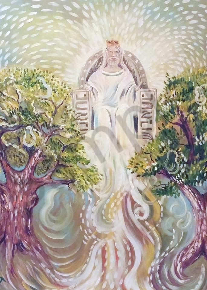 """Revelations 22"" by Pennsylvania Artist Mary Fusco | Prophetics Gallery"