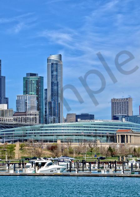 Chicago Soldier Field Cityscape - Fne Art Prints - JP Sullivan Photography