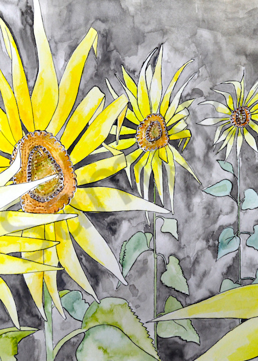 Sunflowers Art | The Soap Gallery