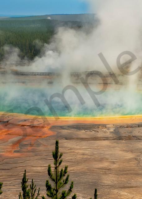 The beautiful Grand Prismatic of Yellowstone - fine art photography prints - JP Sullivan Photography, Inc.
