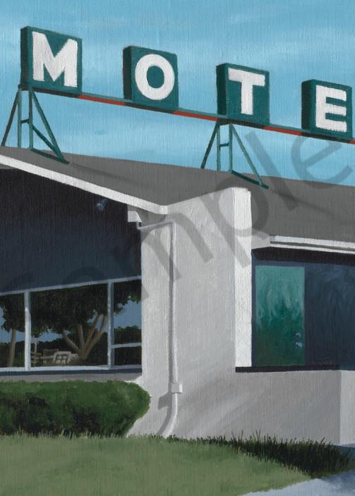 Motel Print | Roadside America Art | Madison, WI