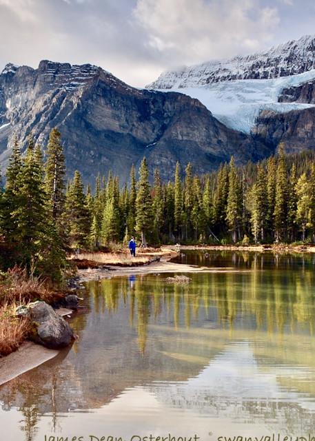 Crowfoot Glacier Photography Art   Swan Valley Photo