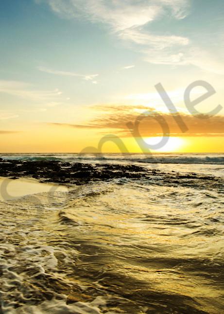 """""""Golden Waves"""" by South African Photographer Karen Edmondson   Prophetics Gallery"""