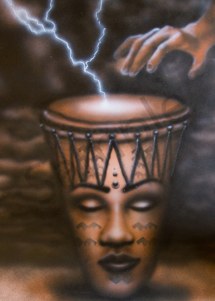 African Drum Art | The Soap Gallery