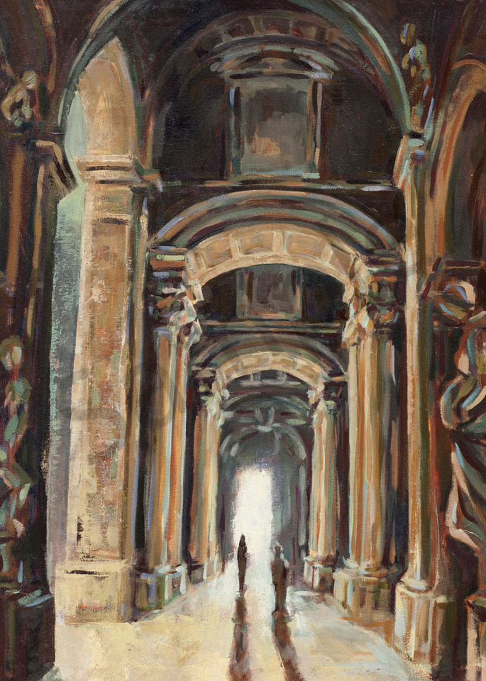 St. Peter's Basilica by Michelle Arnold Paine