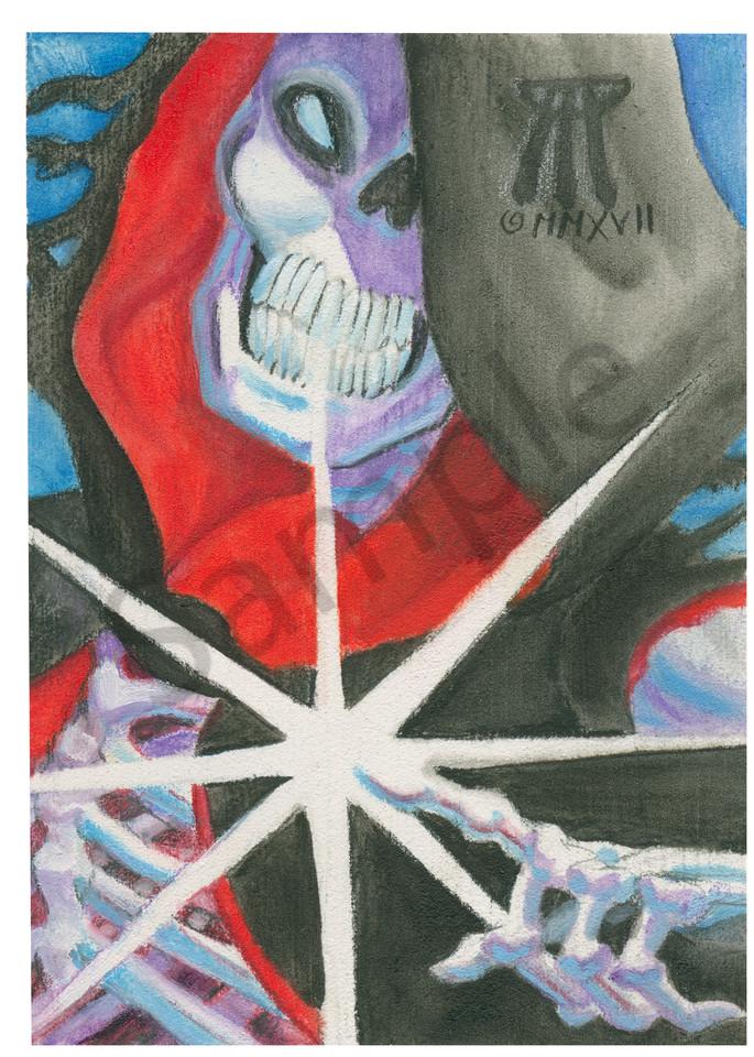 Touch Of Death  Art | Melissa A Benson Illustration