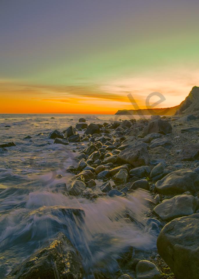 Sunset Waves  Art | toddbreitling