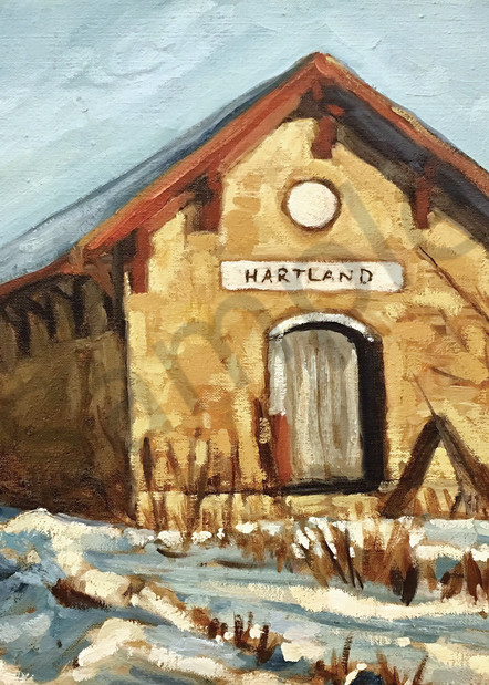 Hartland Depot Art | Geoffrey Butz Art & Design Inc