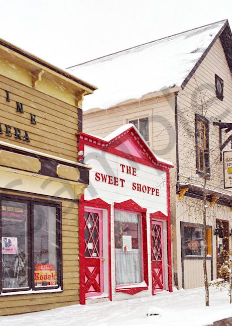 Alpine Camera Snd Sweet Shop Art | Cunningham Gallery