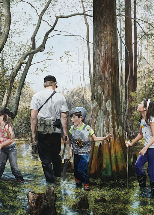 Expedition print by Florida artist Kevin Grass