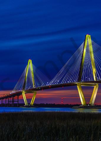 Arthur Ravenal Bridge Photography Art | John Martell Photography
