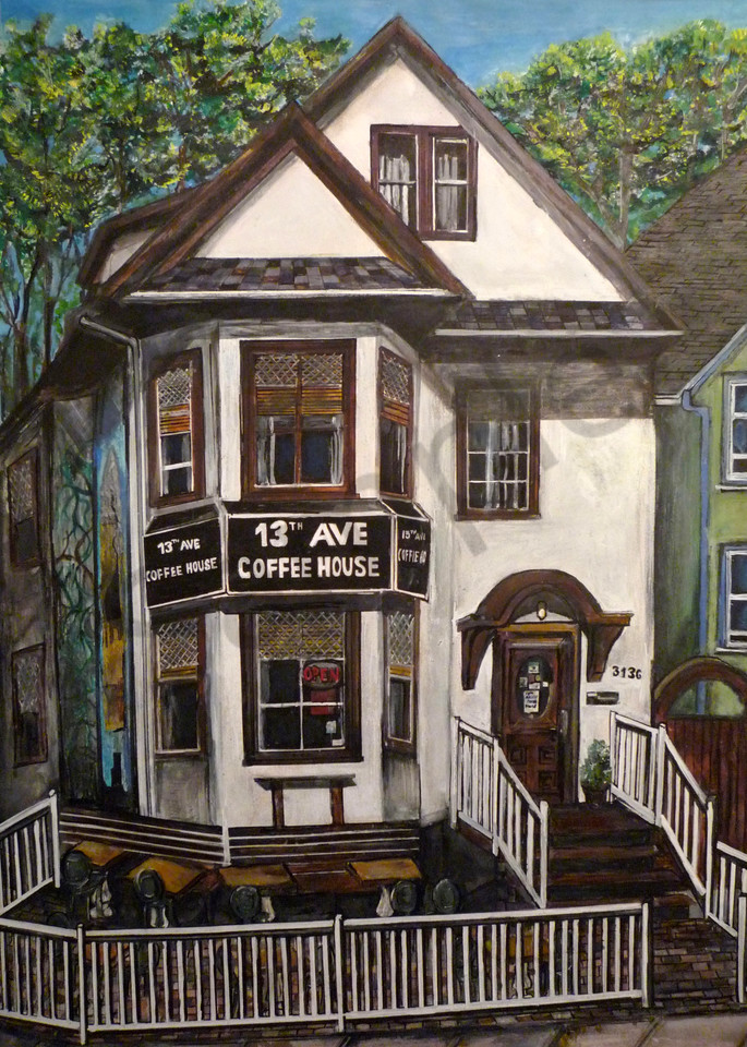 13th Avenue Coffee House  Art | Art By Dana