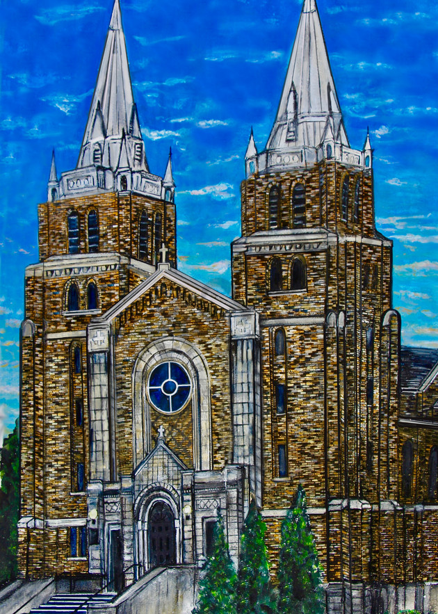 The Cathedral Art | Art By Dana