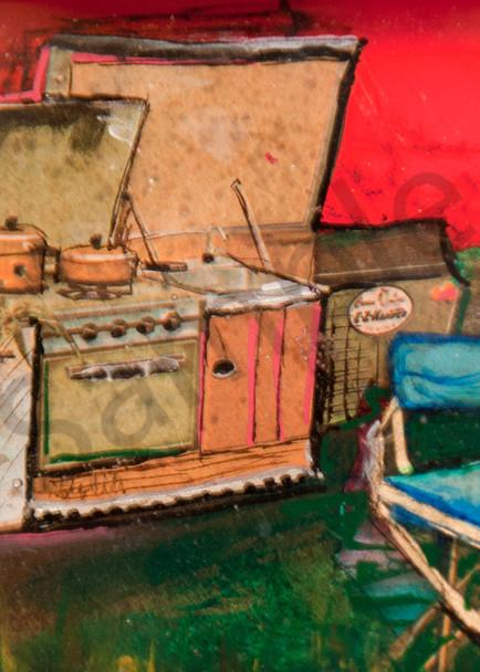 Camp Kitchen Art   Haley Litzinger