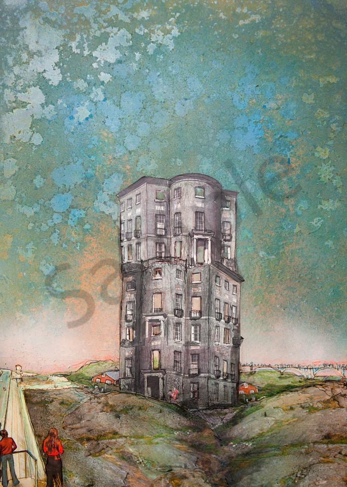 Abandoned Skyscraper Art   Haley Litzinger