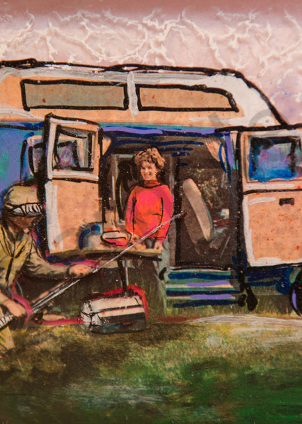 Fishing Van Art | Haley Litzinger