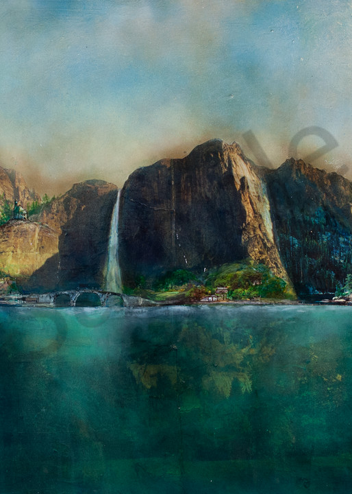 Cliff Villages And Water Art | Haley Litzinger