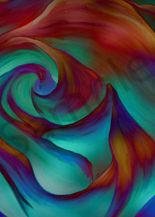 Rainbow Rose Art | Art By Dana