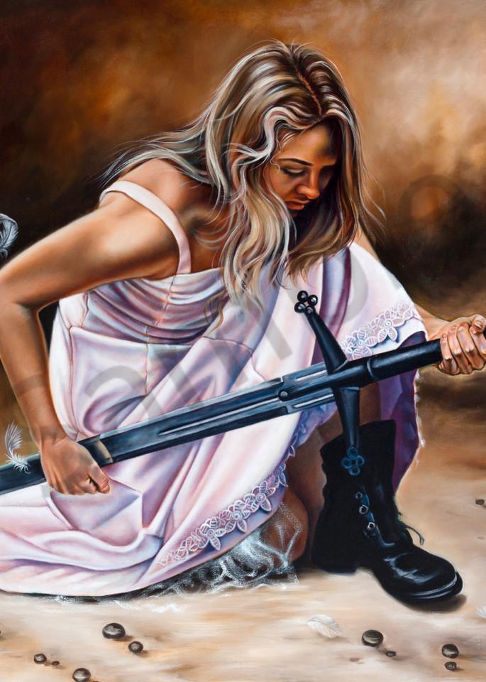 """Sword Of The Holy Spirit"" by Ilse Kleyn   Prophetics Gallery"