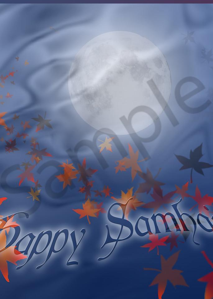 Happy Samhain! Art | Melissa A Benson Illustration