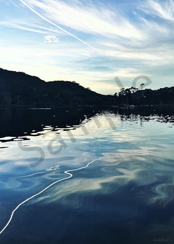 """Reborn of Water..."" - Jet Stream Reflection"