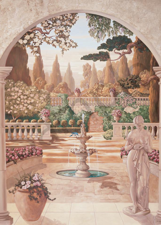 Bella Fontana | Murals in Classical Style | Gordon Meggison IV