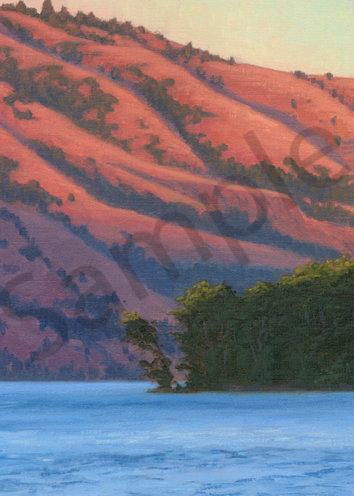 Shadow Rising, Columbia River Art | Terry Sauve Fine Art