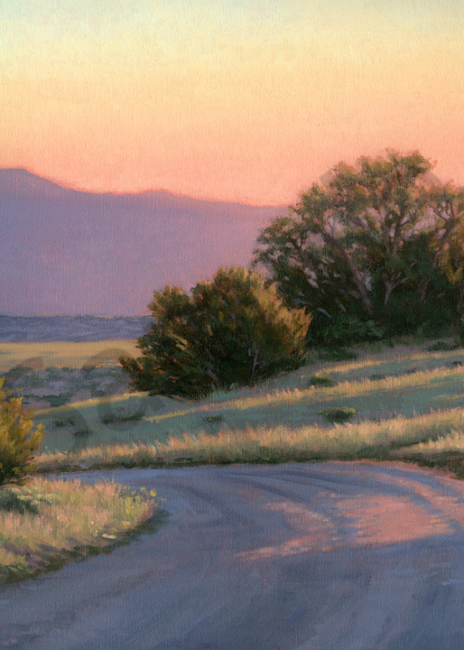 Where The Road Leads Art | Terry Sauve Fine Art