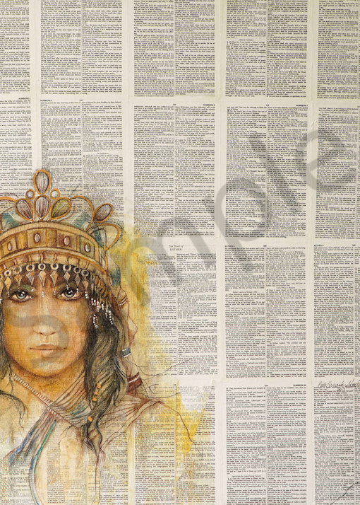 """""""Esther: Orphan To Queen"""" by Patti Hricinak-Sheets   Prophetics Gallery"""