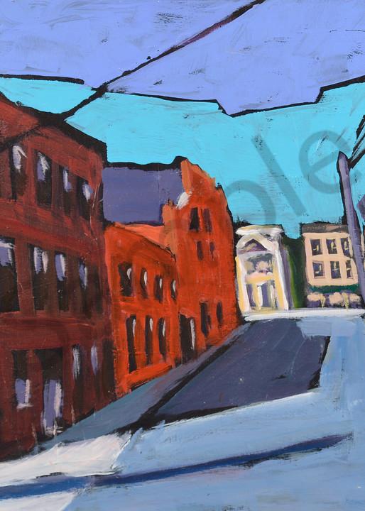 Side Street, Shabby Chic Art | Keith Thirgood